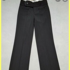 anthropologie cartonnier pinstriped pants size 2
